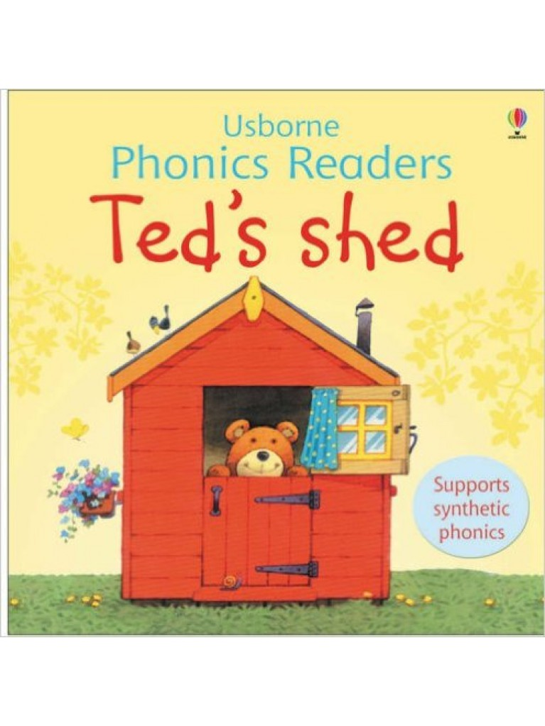 Ted's Shed - Usborne Phonics Readers