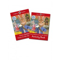 Peter Rabbit  Goes to the Island Reading & Activity Level 1 - (2 Books)